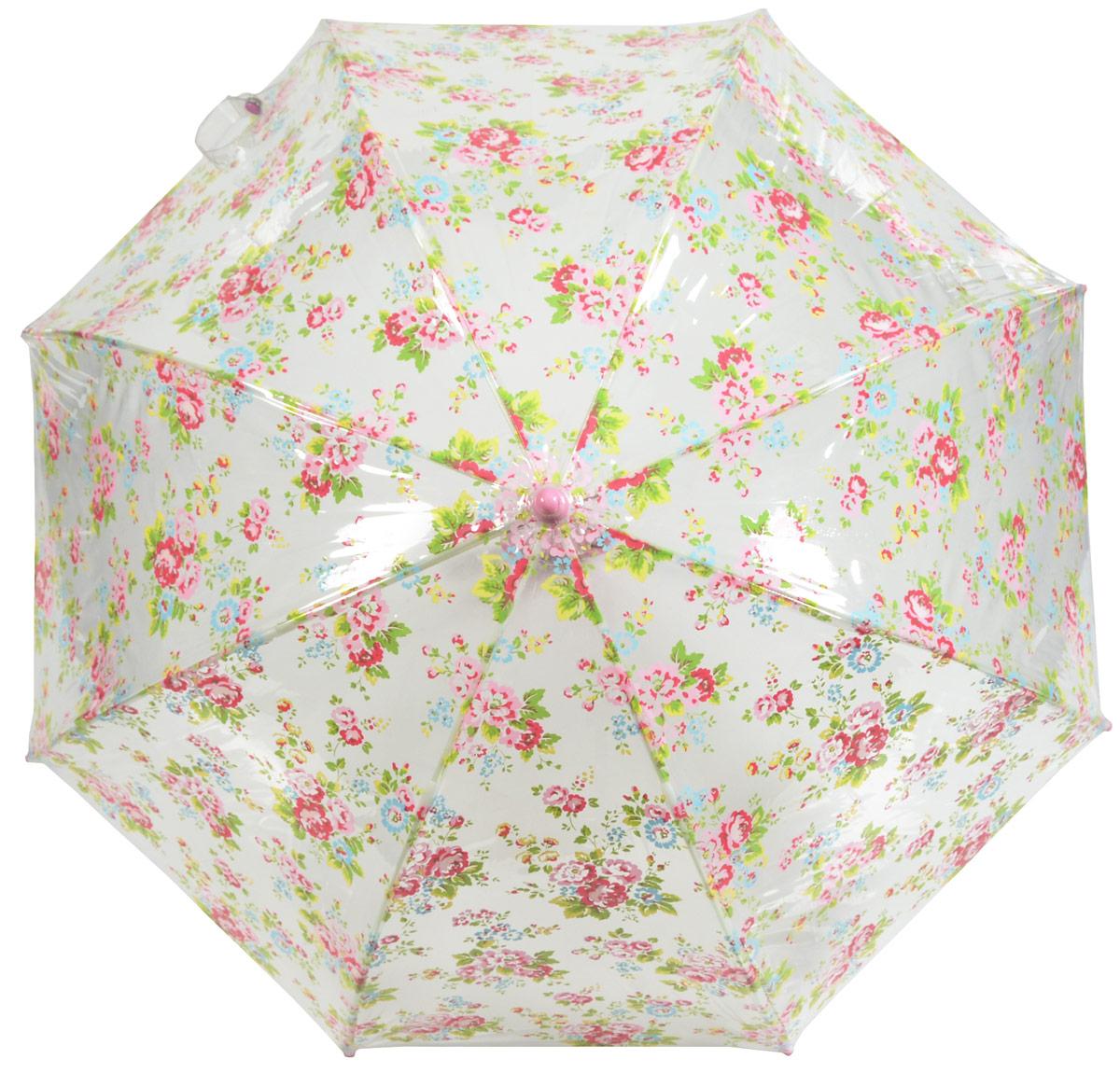 Зонт детский Fulton, расцветка: расцветкаы. C723-2657 SprayFlowersC723-2657 SprayFlowersСимпатичный прозрачный зонтик в форме купола с ярким узором обязательно понравится Вашему ребенку! Специальная безопасная и надежная технология открывания и закрывания. Модная форма купола. Зонт отлично защищает от дождя, и при этом он абсолютно прозрачен. Прочный ветроустойчивый каркас из фибергласса. Длина в сложенном виде 68,5 см, диаметр купола 65 см Cath Kidston для Фултон... Элегантные очень запоминающиеся узоры никогда не выйдут из моды!