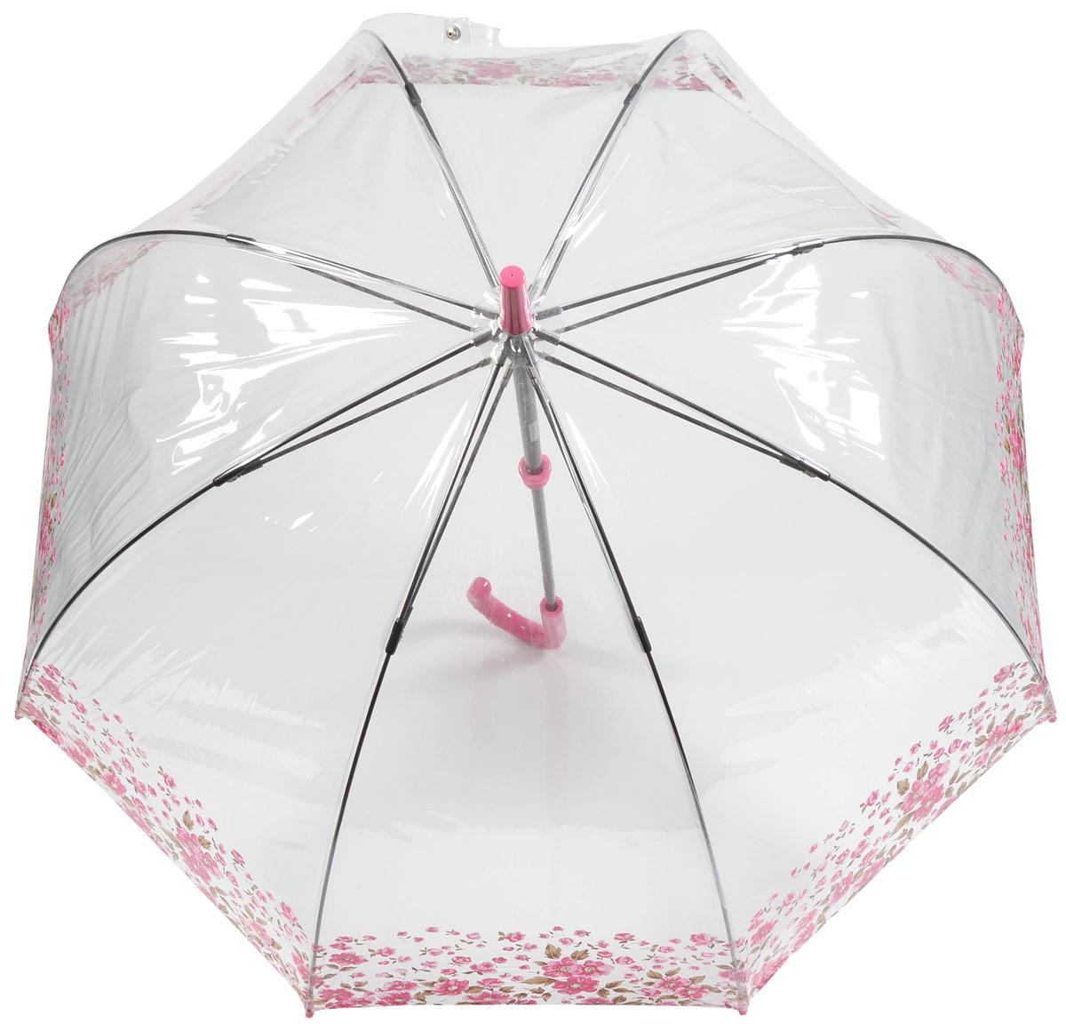 Зонт женский трость Fulton, расцветка: расцветкаы. L042-2643 FloralBorderL042-2643 FloralBorderОбразец элегантности! Именно под таким зонтом ходит королева! Специальная безопасная и надежная технология открывания и закрывания. Модная форма купола. Прозрачный зонт отлично защищает от дождя, и при этом он абсолютно прозрачен. Прочный ветроустойчивый каркас из фибергласса. Длина в сложенном виде 94 см, диаметр купола 89 см