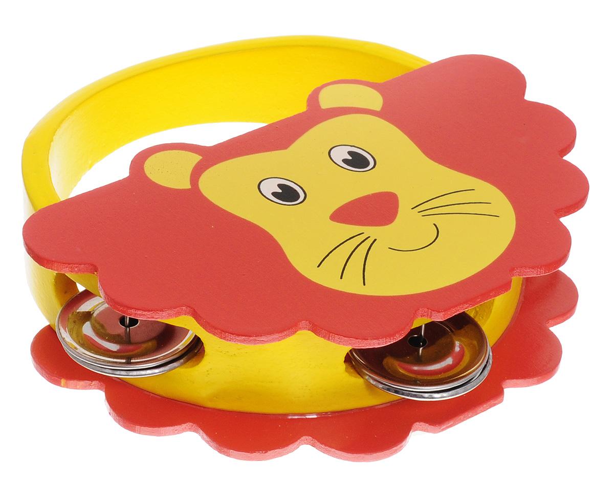 Мир деревянных игрушек Бубен ЛевД220_левБубен Мир деревянных игрушек Лев доставит огромное удовольствие вашему ребенку и вдохновит его к занятию музыкой. Музыкальный инструмент выполнен в оригинальном дизайне: поверхность бубна деревянная, в виде фигурки льва, а по бокам ободка имеются прорези со вставленными в них металлическими пластинами. Играть на бубне можно двумя способами: встряхивая его или ударяя об его поверхность. Бубен Мир деревянных игрушек Лев способствует развитию звуковосприятия, чувства ритма и музыкальных способностей у ребенка.