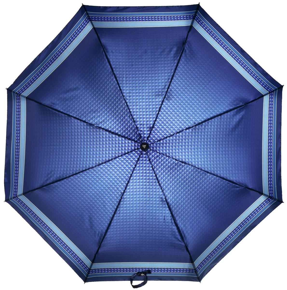 Зонт женский Fabretti, автомат, 3 сложения, цвет: серый. L-16105-14L-16105-14Зонт женский Fabretti, облегченный суперавтомат, 3 сложения