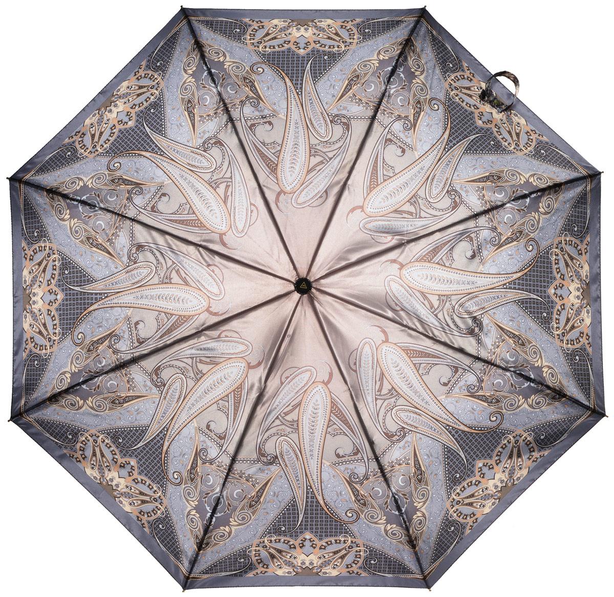 Зонт женский Fabretti, автомат, 3 сложения. L-16107-26L-16107-26Зонт женский Fabretti, облегченный суперавтомат, 3 сложения