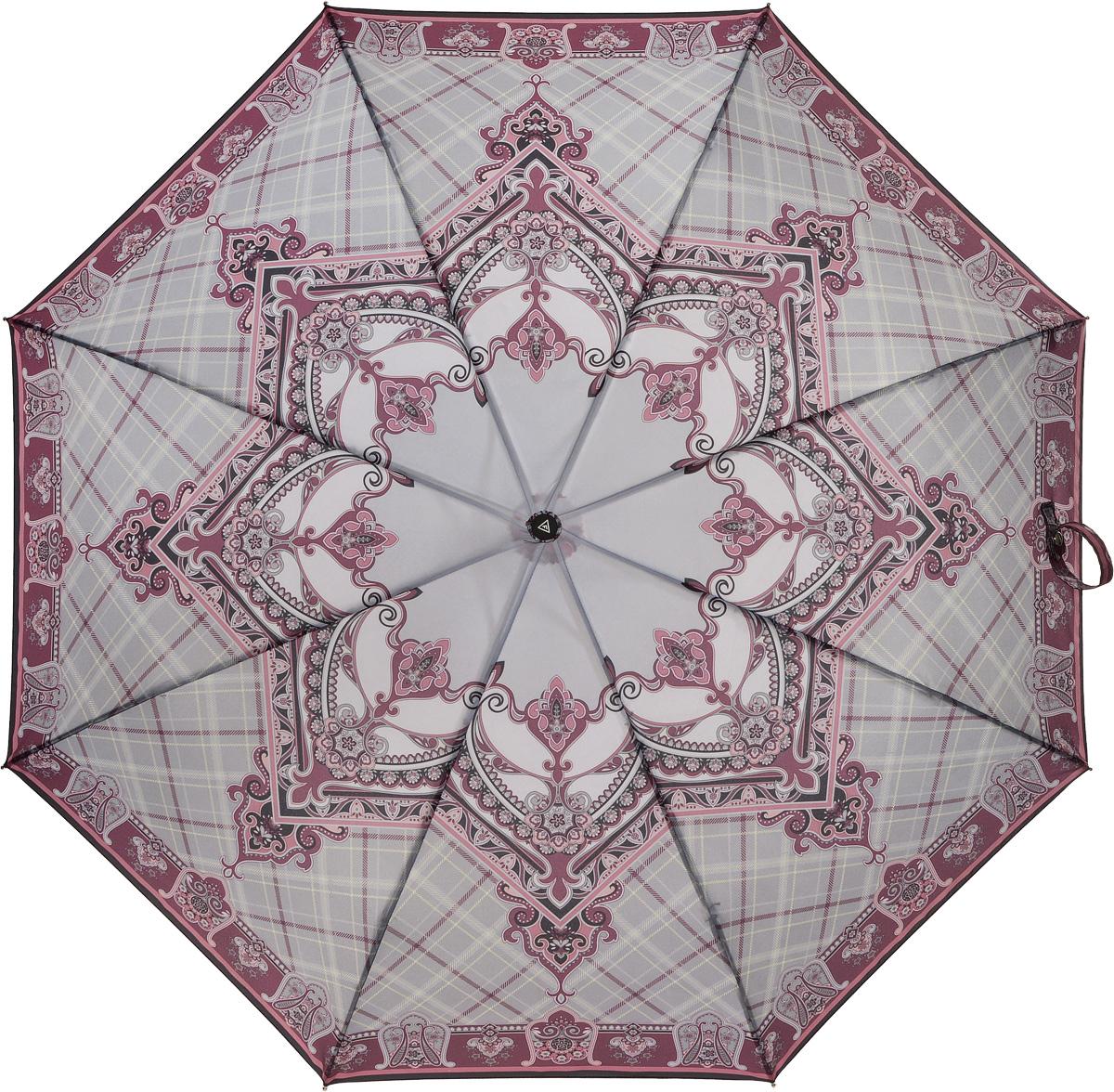 Зонт женский Fabretti, автомат, 3 сложения, цвет: мультиколор. L-16100-2L-16100-2Зонт женский Fabretti, облегченный суперавтомат, 3 сложения.Женский зонт- это не просто защита от дождя, но и красивый, стильный аксессуар, который будет выгодно подчеркивать женственность и утонченность обладательницы.