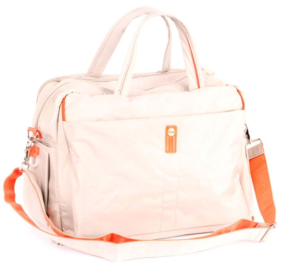 Сумка спортивная Polar, 18 л, цвет: бежевый. 1071710717Спортивная сумка Polar из нейлона. Одно основное отделение. Внутри карман на кнопке. В комплект входит съемный плечевой ремень.
