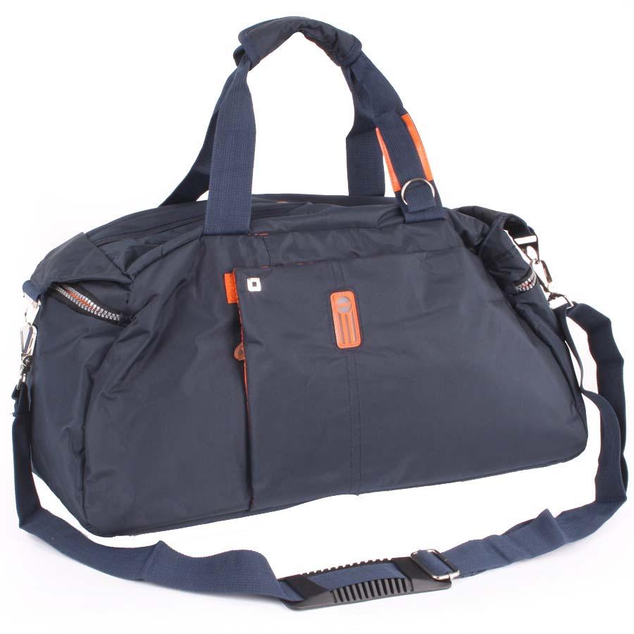 Сумка спортивная Polar, 24,5 л, цвет: синий. 1075410754Спортивная сумка Polar из нейлона. Одно основное отделение. Внутри карман на молнии. Два кармашка на молнии по бокам сумки. Два кармашка на молнии спереди и сзади сумки. В комплект входит съемный плечевой ремень. Высота ручек 16 см.