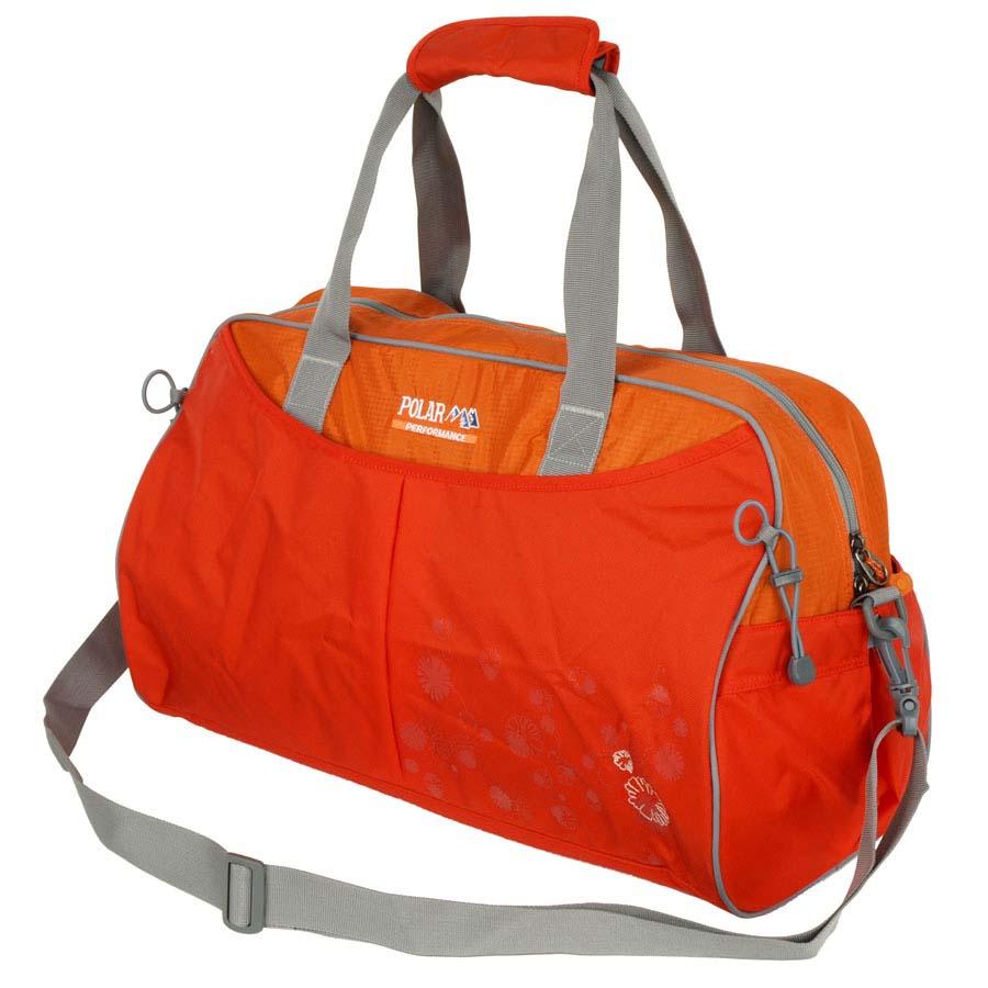 Сумка спортивная Polar, 36 л, цвет: оранжевый. П2053-02П2053-02Спортивная сумка Polar. Одно основное отделение. Внутри карман на молнии, открытый кармашек на липучке, держатель для бутылочки с водой. Снаружи- карман на молнии спереди сумки. Имеется плечевой ремень.
