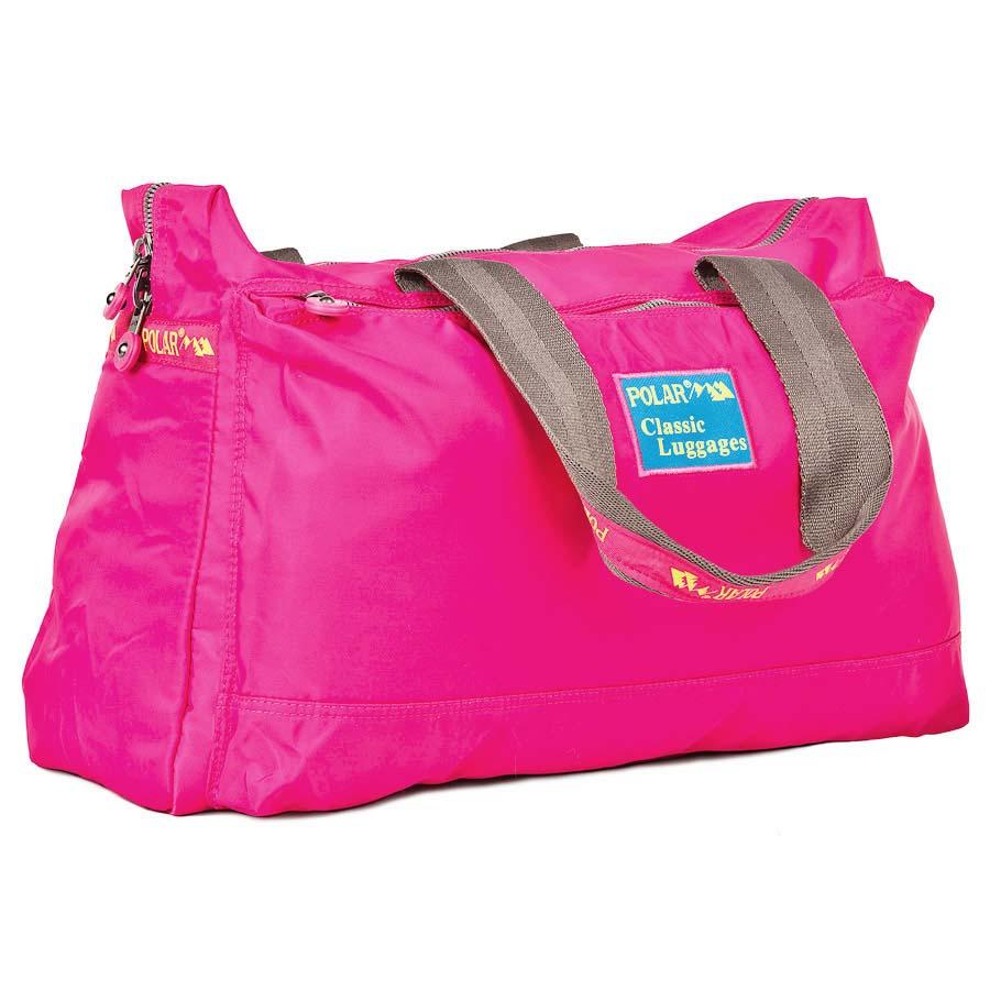 Сумка спортивная Polar, 22 л, цвет: розовый. П1288-17П1288-17Спортивная сумка Polar. Сумка универсальная для спорта. Одно большое отделение -внутри большой открытый карман и карман на молнии. Два кармана спереди и сзади сумки. Высота ручек 26 см.