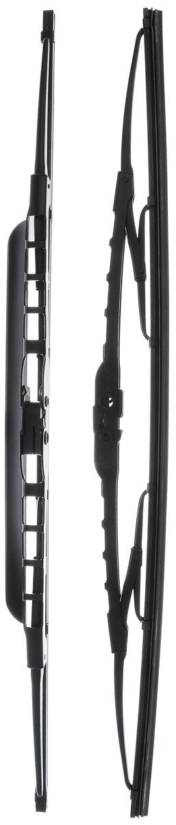 Щетка стеклоочистителя Bosch 500S, каркасная, со спойлером, длина 50 см, 2 шт3397118561Щетка Bosch 500S, выполненная по современной технологии из высококачественных материалов, оптимально подходит для замены оригинальных щеток, установленных на конвейере. Обеспечивает идеальную очистку стекла в любую погоду. Комплектация: 2 шт. TWIN Spoiler - серия классических каркасных щеток со спойлером от компании Bosch. Эти щетки имеют полностью металлический каркас с двойной защитой от коррозии и сверхточный профиль резинового элемента с двумя чистящими кромками. Спойлер, выполненный в виде крыла, закрывает каркас щетки от воздушного потока.