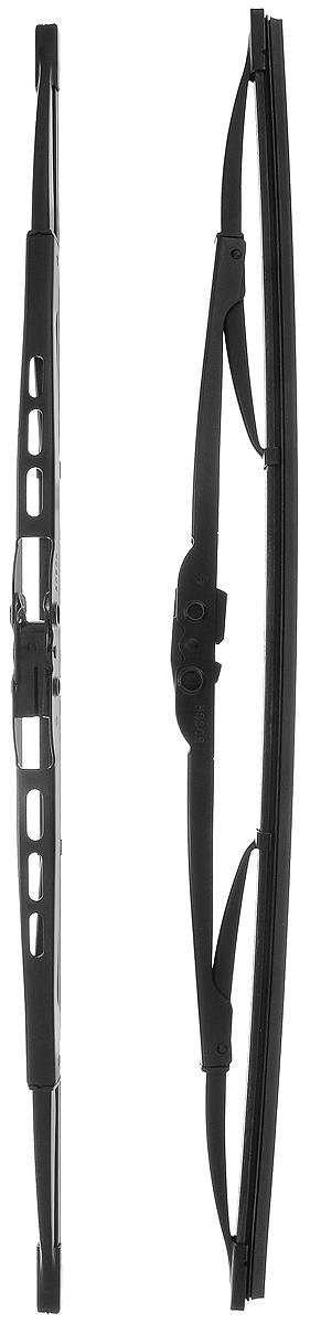 Щетка стеклоочистителя Bosch 450, каркасная, длина 45 см, 2 шт3397118505Щетка Bosch 450, выполненная по современной технологии из высококачественных материалов, оптимально подходит для замены оригинальных щеток, установленных на конвейере. Обеспечивает идеальную очистку стекла в любую погоду. TWIN - серия классических каркасных щеток от компании Bosch. Эти щетки имеют полностью металлический каркас с двойной защитой от коррозии и сверхточный профиль резинового элемента с двумя чистящими кромками. Комплектация: 2 шт.