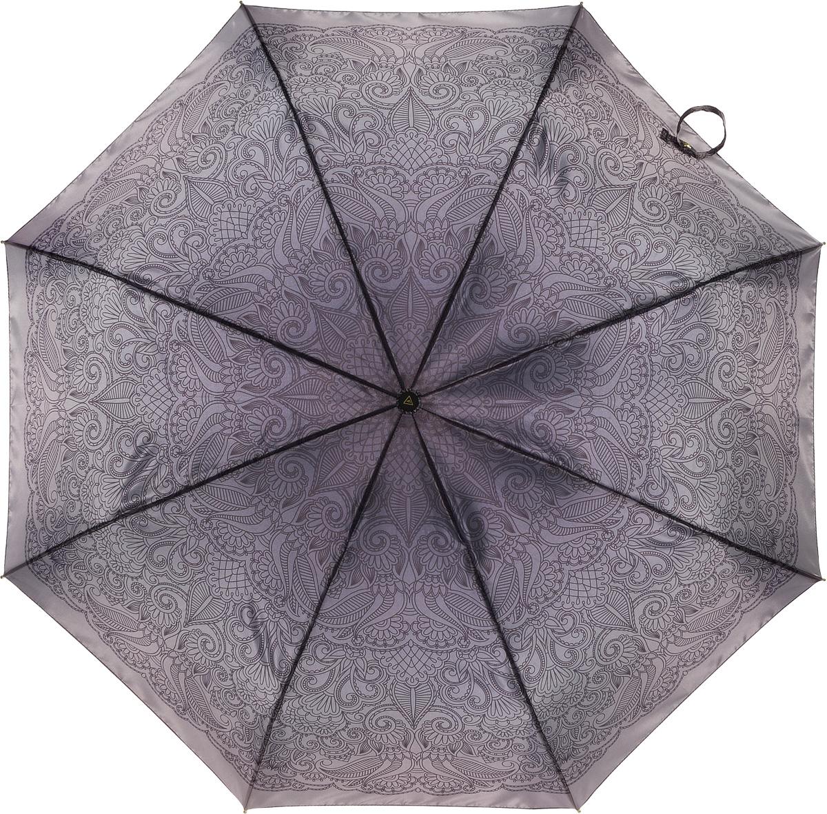 Зонт женский Fabretti, автомат, 3 сложения. L-16107-25L-16107-25Зонт женский Fabretti, облегченный суперавтомат, 3 сложения