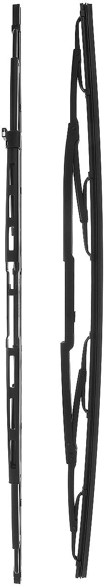 Щетка стеклоочистителя Bosch 909, каркасная, длина 55 см, 2 шт3397001909Щетка Bosch 909, выполненная по современной технологии из высококачественных материалов, оптимально подходит для замены оригинальных щеток, установленных на конвейере. Обеспечивает идеальную очистку стекла в любую погоду. TWIN - серия классических каркасных щеток от компании Bosch. Эти щетки имеют полностью металлический каркас с двойной защитой от коррозии и сверхточный профиль резинового элемента с двумя чистящими кромками. Комплектация: 2 шт.