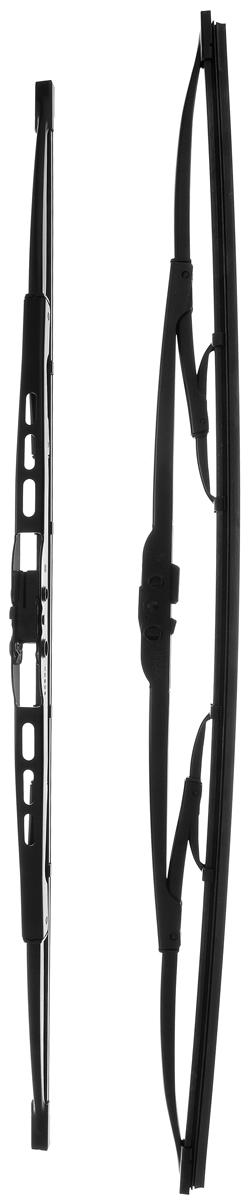 Щетка стеклоочистителя Bosch 551, каркасная, длина 50/55 см, 2 шт3397118422Комплект Bosch 551 состоит из двух щеток разной длины, выполненных по современной технологии из высококачественных материалов. Они обеспечивает идеальную очистку стекла в любую погоду. TWIN - серия классических каркасных щеток от компании Bosch. Эти щетки имеют полностью металлический каркас с двойной защитой от коррозии и сверхточный профиль резинового элемента с двумя чистящими кромками. Комплектация: 2 шт. Длина щеток: 50 см; 55 см.