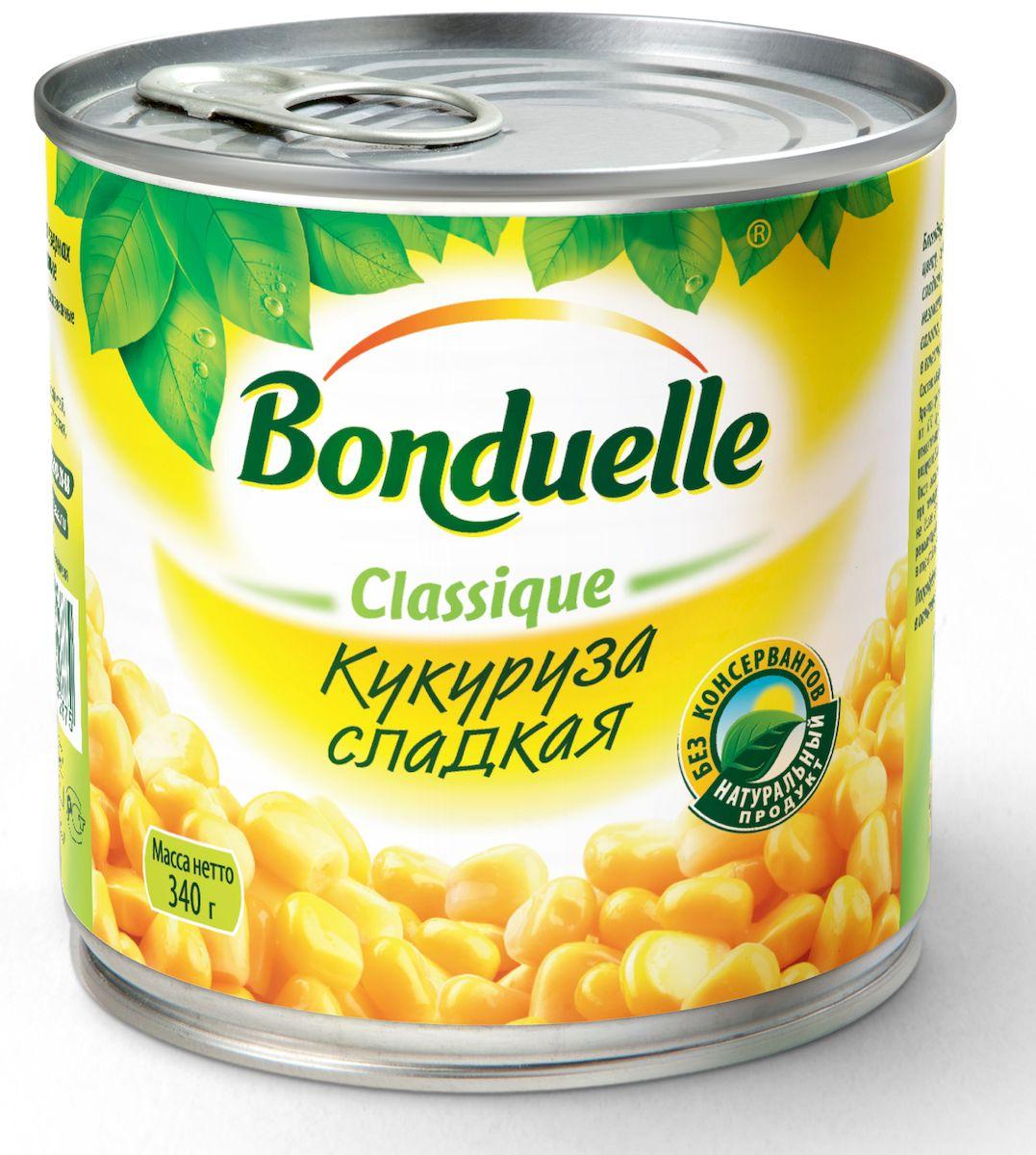 Bonduelle кукуруза сладкая, 400 г
