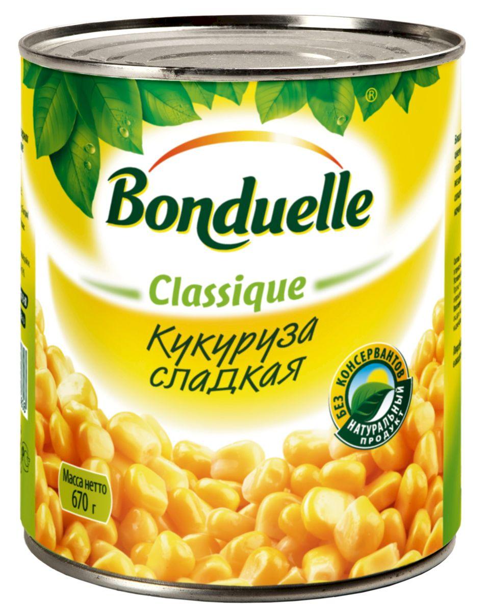 Bonduelle кукуруза сладкая, 670 г