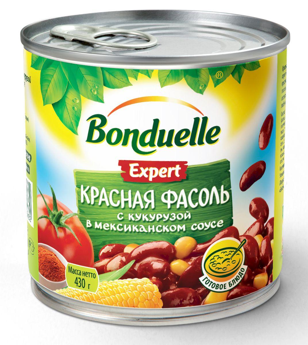 Bonduelle красная фасоль с кукурузой в мексиканском соусе, 430 г
