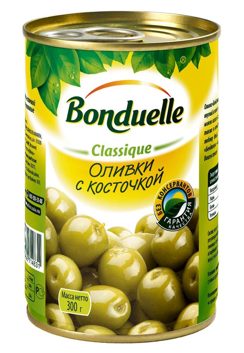 Bonduelle оливки с косточками, 300 г