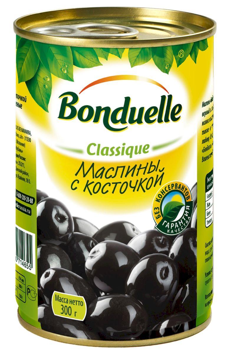 Bonduelle маслины с косточками, 300 г