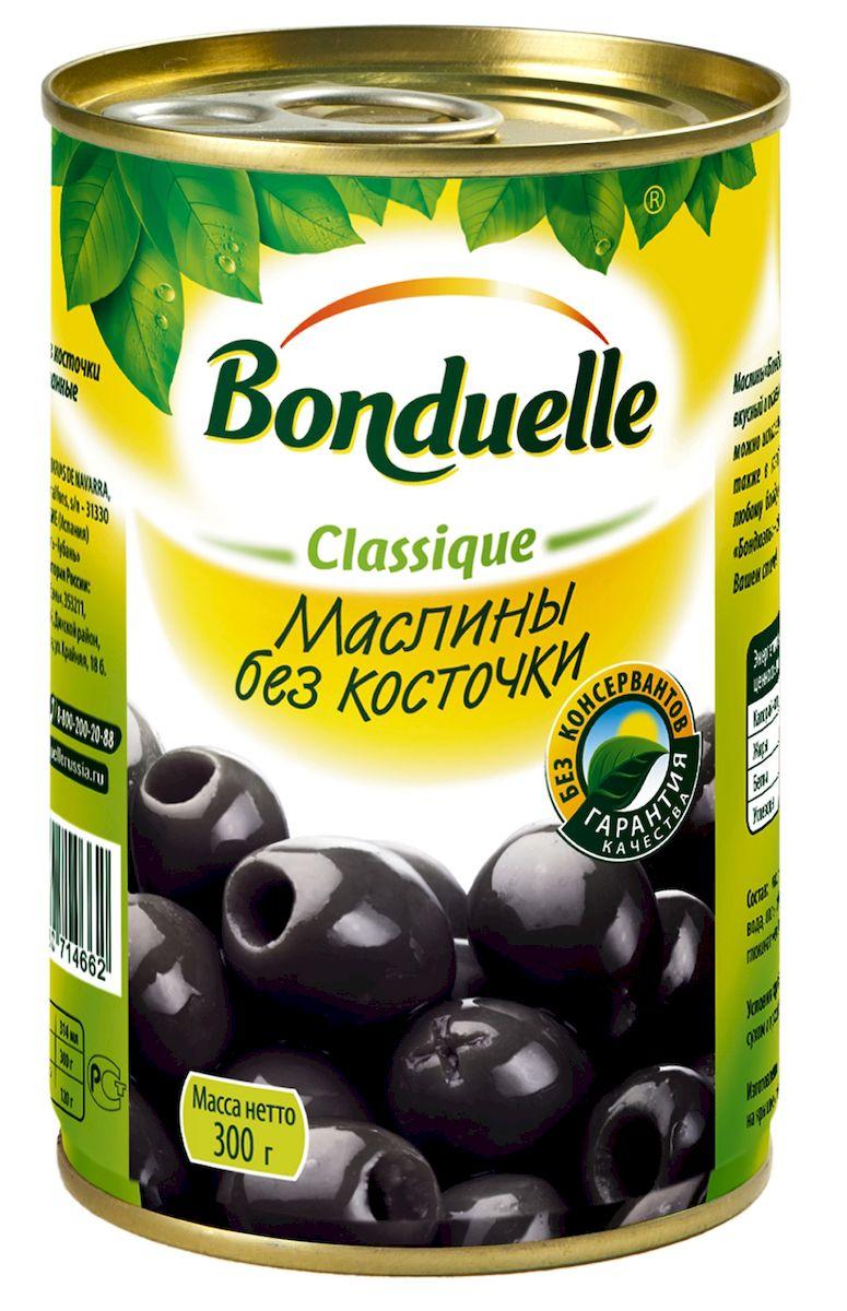 Bonduelle маслины без косточек, 300 г