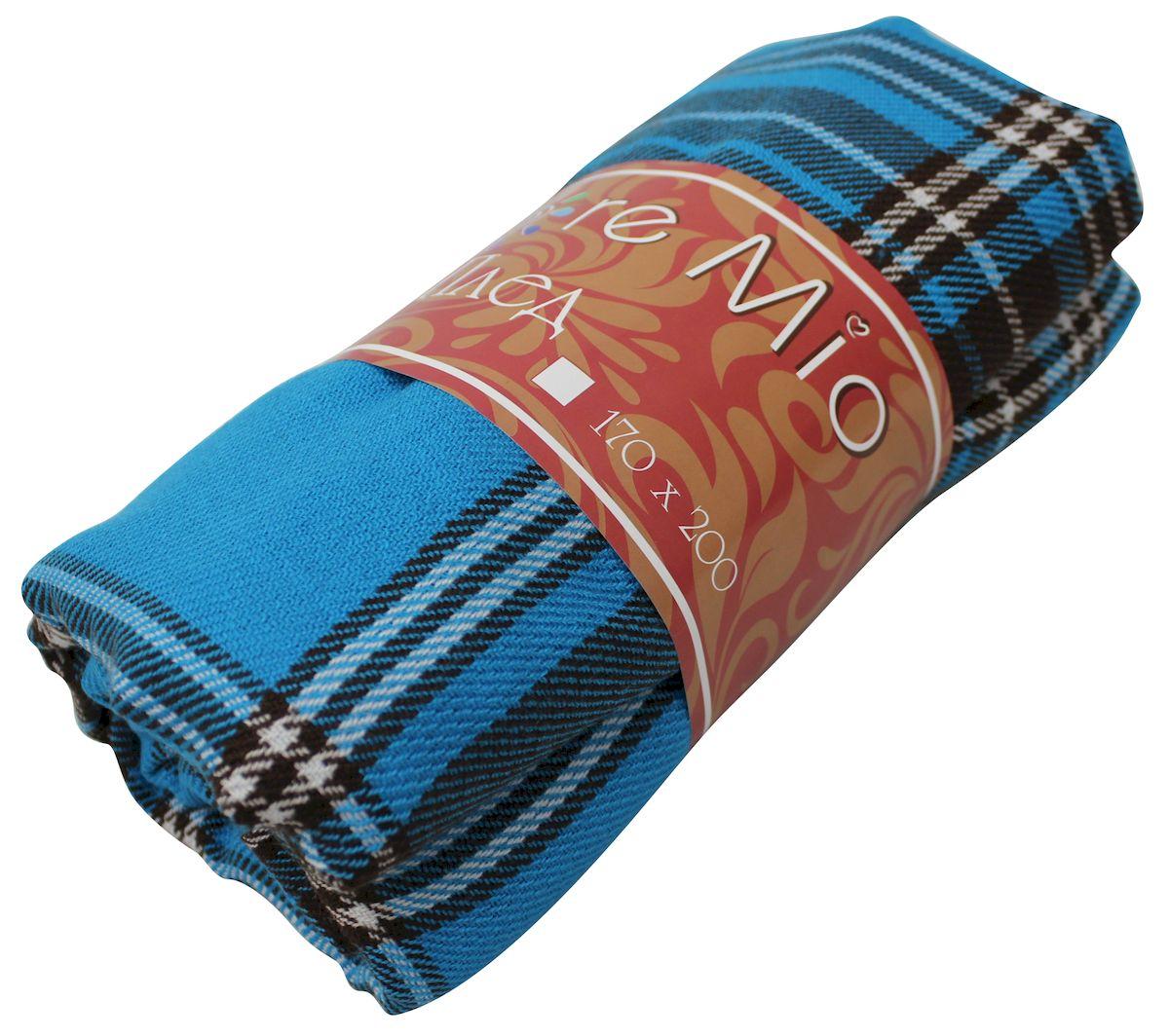 Плед Amore Mio Azure, 170х200 см78893Пледы Scotland Amore Mio – Комфорт и Уют - Каждый день! Amore Mio-Разнообразие ярких и современных дизайнов прослужат не один год и всегда будут радовать Вас и Ваших близких сочностью красок и красивым рисунком. Пледы Amore Mio подарят Вам нежность жаркими летними ночами, теплоту и комфорт прохладными зимними вечерами. Пледы Scotland Amore Mio - легкое, универсальное тканое изделие, с кистями. Пряжей для выработки послужил 100% Акрил. Не зря в народе за акрилом закрепилось имя искусственной шерсти. Потому что акриловое волокно великолепно удерживает тепло, оно практично и долговечно. Еще одно преимущество - в цене, так как по факту акрил значительно дешевле натуральной шерсти.