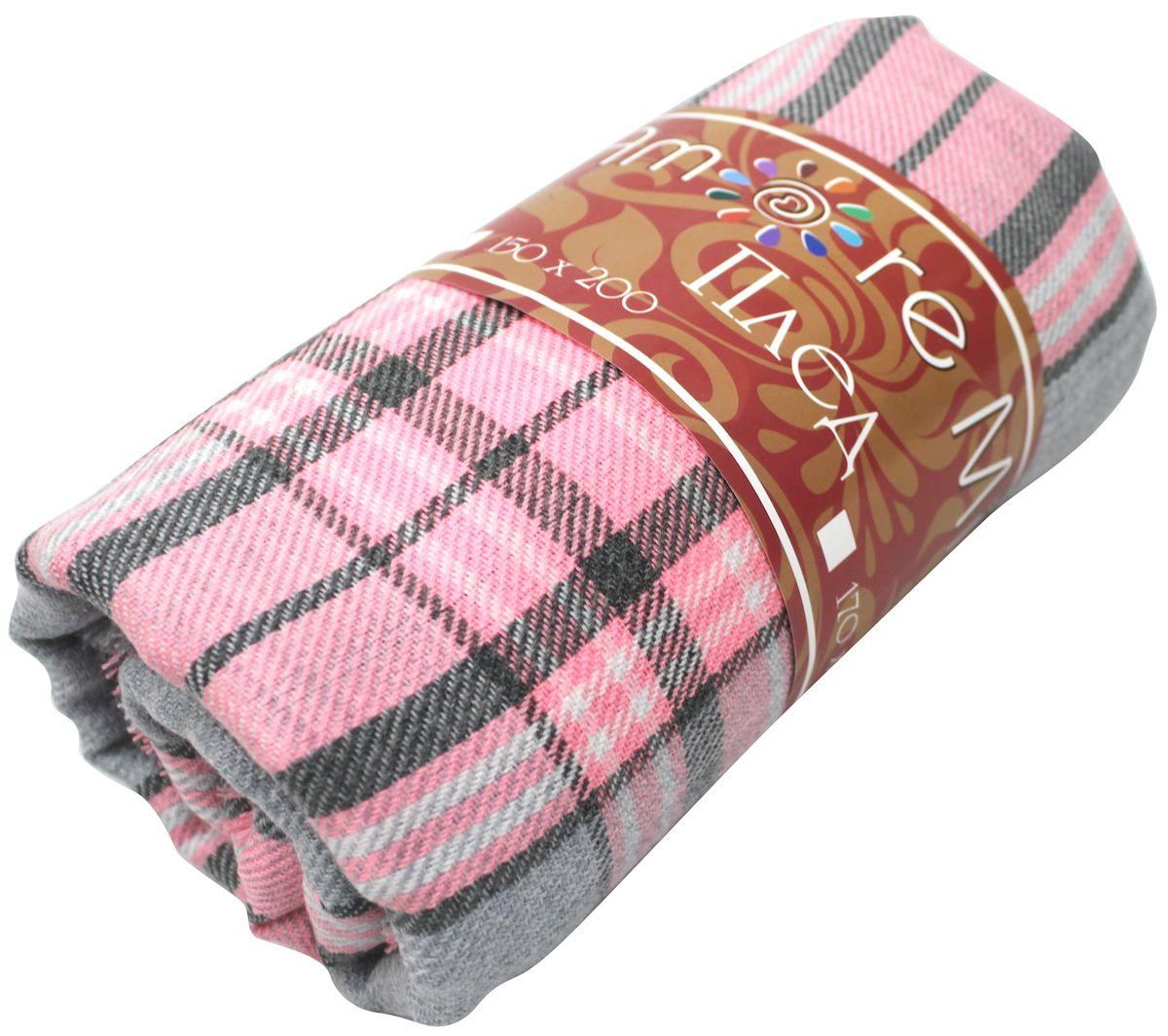Плед Amore Mio Elegy, 170х200 см78894Пледы Scotland Amore Mio – Комфорт и Уют - Каждый день! Amore Mio-Разнообразие ярких и современных дизайнов прослужат не один год и всегда будут радовать Вас и Ваших близких сочностью красок и красивым рисунком. Пледы Amore Mio подарят Вам нежность жаркими летними ночами, теплоту и комфорт прохладными зимними вечерами. Пледы Scotland Amore Mio - легкое, универсальное тканое изделие, с кистями. Пряжей для выработки послужил 100% Акрил. Не зря в народе за акрилом закрепилось имя искусственной шерсти. Потому что акриловое волокно великолепно удерживает тепло, оно практично и долговечно. Еще одно преимущество - в цене, так как по факту акрил значительно дешевле натуральной шерсти.