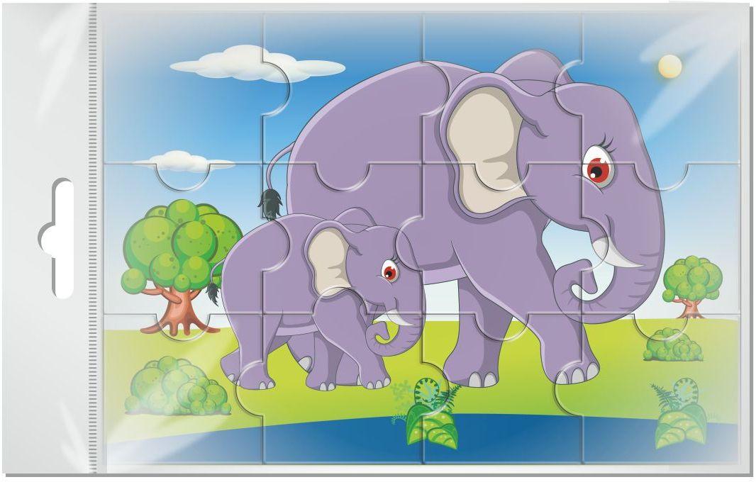 Издательская группа Квадра Пазл для малышей магнитный Слоны01467Магнитные пазлы, из которых ребенок может самостоятельно собрать картинку. Детали пазла объемные и крупные - маленьким детям удобно с ними играть. Складывая пазл, ребенок развивает мелкую моторику и мышление, учится различать понятия части и целого.Благодаря магнитной основе пазл хорошо держится на металлической поверхности.Пока мамочка готовит кушать,малыш может собрать даже на холодильнике!