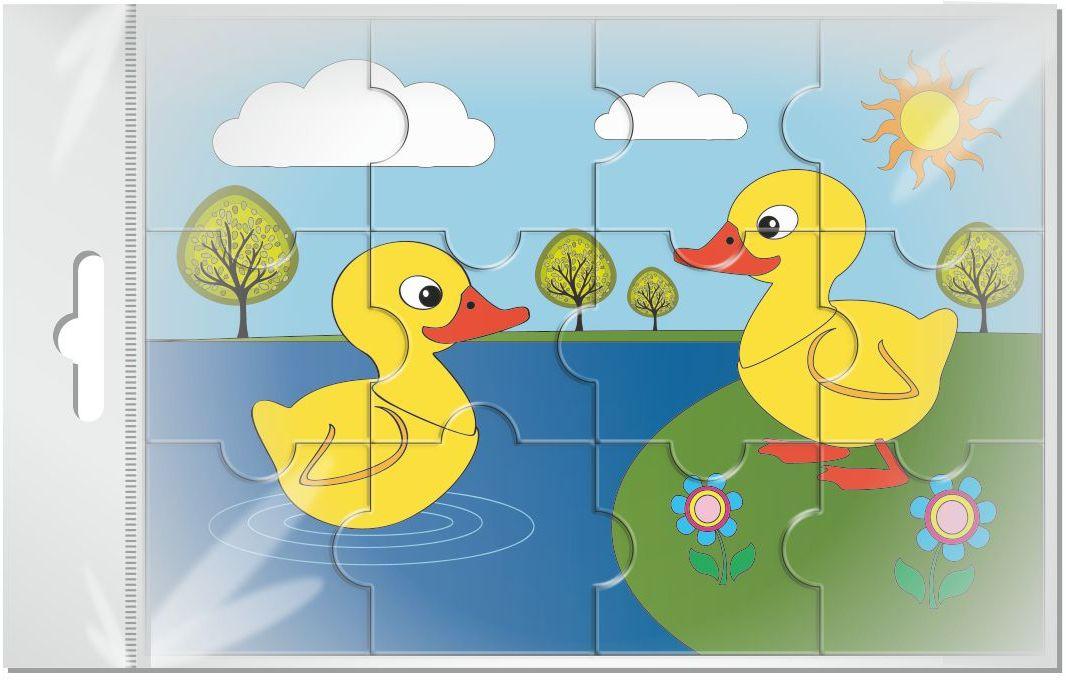 Издательская группа Квадра Пазл для малышей магнитный Утята01470Магнитные пазлы, из которых ребенок может самостоятельно собрать картинку. Детали пазла объемные и крупные - маленьким детям удобно с ними играть. Складывая пазл, ребенок развивает мелкую моторику и мышление, учится различать понятия части и целого.Благодаря магнитной основе пазл хорошо держится на металлической поверхности.Пока мамочка готовит кушать,малыш может собрать даже на холодильнике!