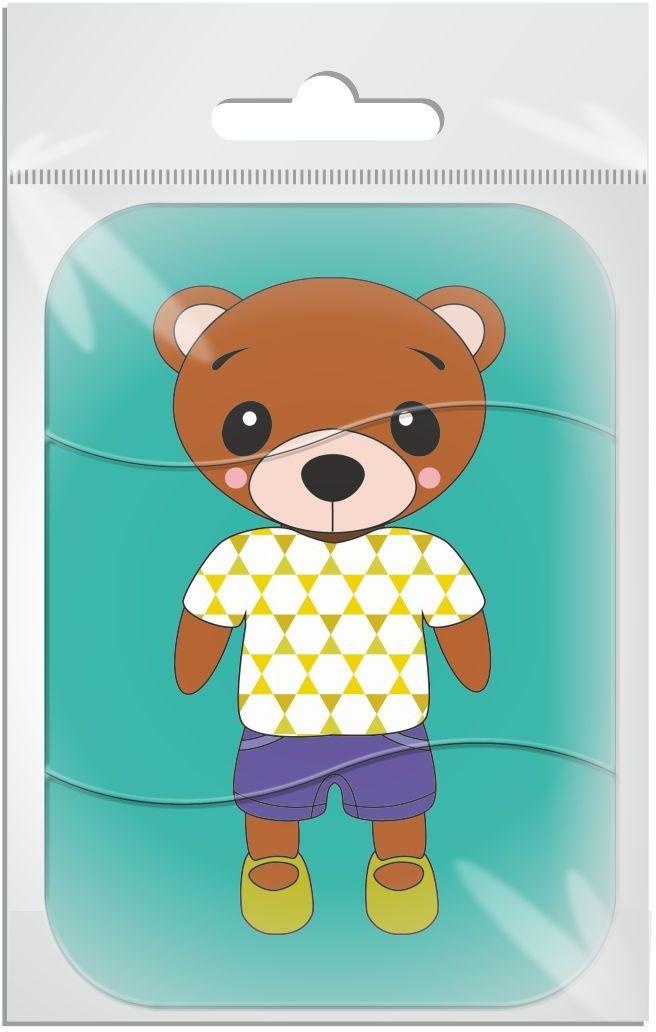 Издательская группа Квадра Пазл для малышей магнитный Медведь01486Магнитные пазлы, из которых ребенок может самостоятельно собрать картинку. Детали пазла объемные и крупные - маленьким детям удобно с ними играть. Складывая пазл, ребенок развивает мелкую моторику и мышление, учится различать понятия части и целого.Благодаря магнитной основе пазл хорошо держится на металлической поверхности.Пока мамочка готовит кушать,малыш может собрать даже на холодильнике!