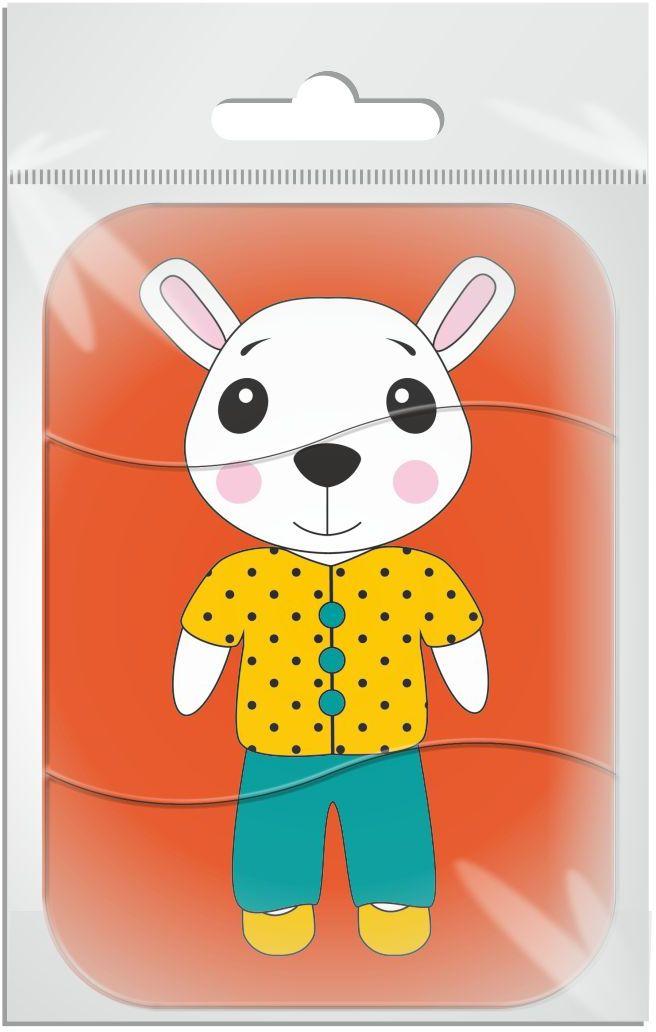 Издательская группа Квадра Пазл для малышей магнитный Белая мышь01490Магнитные пазлы, из которых ребенок может самостоятельно собрать картинку. Детали пазла объемные и крупные - маленьким детям удобно с ними играть. Складывая пазл, ребенок развивает мелкую моторику и мышление, учится различать понятия части и целого.Благодаря магнитной основе пазл хорошо держится на металлической поверхности.Пока мамочка готовит кушать,малыш может собрать даже на холодильнике!