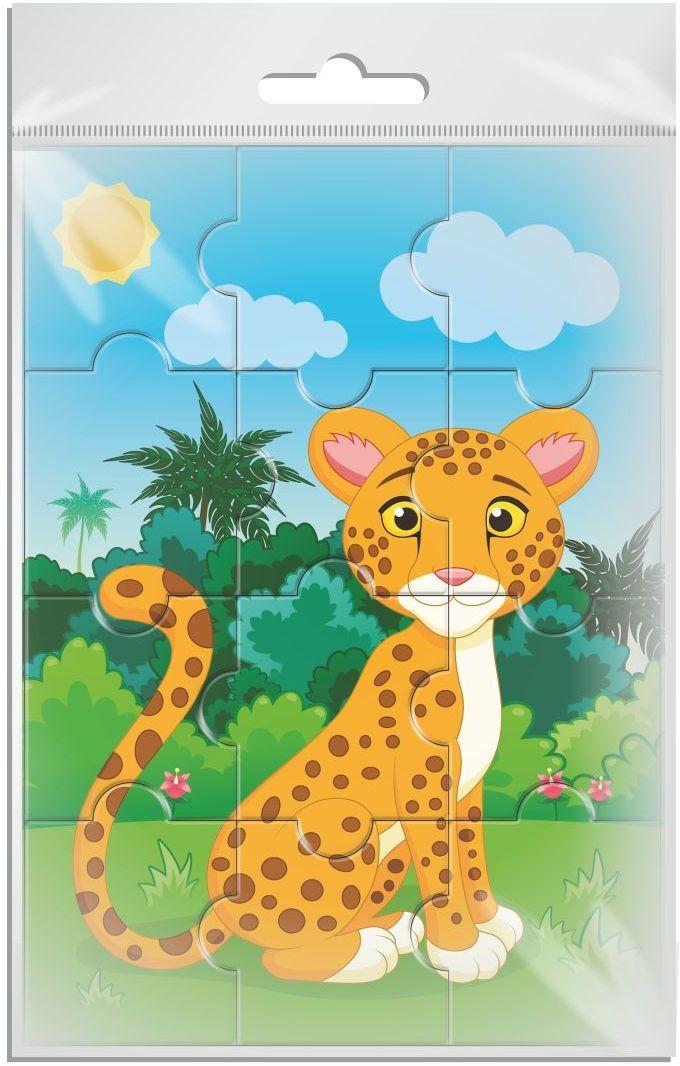 Издательская группа Квадра Пазл для малышей магнитный Леопард01998Магнитные пазлы, из которых ребенок может самостоятельно собрать картинку. Детали пазла объемные и крупные - маленьким детям удобно с ними играть. Складывая пазл, ребенок развивает мелкую моторику и мышление, учится различать понятия части и целого.Благодаря магнитной основе пазл хорошо держится на металлической поверхности.Пока мамочка готовит кушать,малыш может собрать даже на холодильнике!