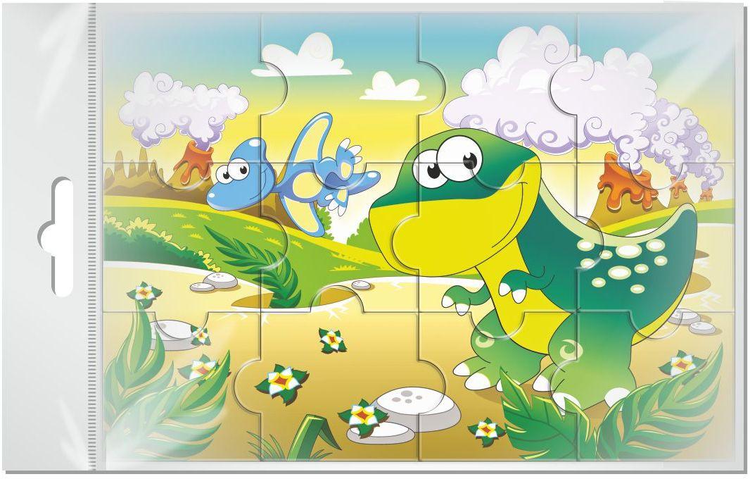 Издательская группа Квадра Пазл для малышей магнитный Динозавры02019Магнитные пазлы, из которых ребенок может самостоятельно собрать картинку. Детали пазла объемные и крупные - маленьким детям удобно с ними играть. Складывая пазл, ребенок развивает мелкую моторику и мышление, учится различать понятия части и целого.Благодаря магнитной основе пазл хорошо держится на металлической поверхности.Пока мамочка готовит кушать,малыш может собрать даже на холодильнике!