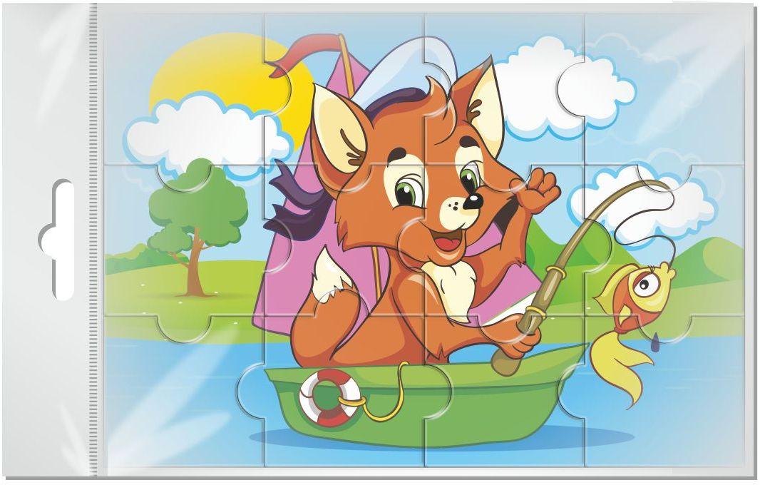 Издательская группа Квадра Пазл для малышей магнитный Лисенок02021Магнитные пазлы, из которых ребенок может самостоятельно собрать картинку. Детали пазла объемные и крупные - маленьким детям удобно с ними играть. Складывая пазл, ребенок развивает мелкую моторику и мышление, учится различать понятия части и целого.Благодаря магнитной основе пазл хорошо держится на металлической поверхности.Пока мамочка готовит кушать,малыш может собрать даже на холодильнике!