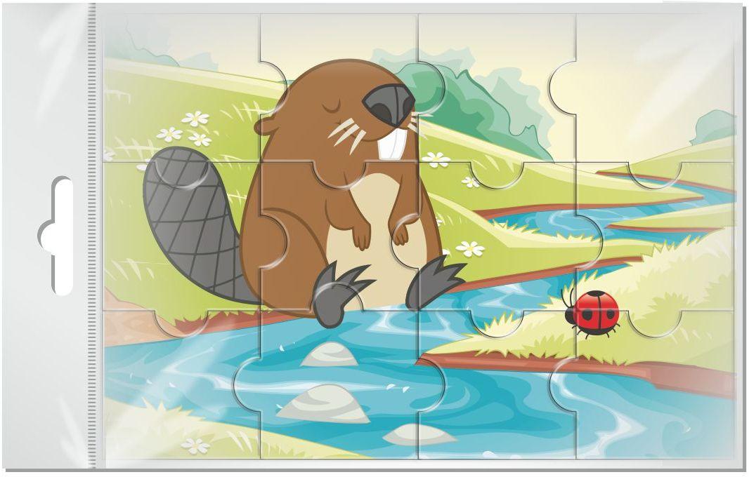 Издательская группа Квадра Пазл для малышей магнитный Бобер02039Магнитные пазлы, из которых ребенок может самостоятельно собрать картинку. Детали пазла объемные и крупные - маленьким детям удобно с ними играть. Складывая пазл, ребенок развивает мелкую моторику и мышление, учится различать понятия части и целого.Благодаря магнитной основе пазл хорошо держится на металлической поверхности.Пока мамочка готовит кушать,малыш может собрать даже на холодильнике!