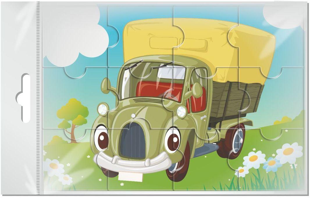 Издательская группа Квадра Пазл для малышей магнитный Машина 12 элементов02040Магнитные пазлы, из которых ребенок может самостоятельно собрать картинку. Детали пазла объемные и крупные - маленьким детям удобно с ними играть. Складывая пазл, ребенок развивает мелкую моторику и мышление, учится различать понятия части и целого.Благодаря магнитной основе пазл хорошо держится на металлической поверхности.Пока мамочка готовит кушать,малыш может собрать даже на холодильнике!