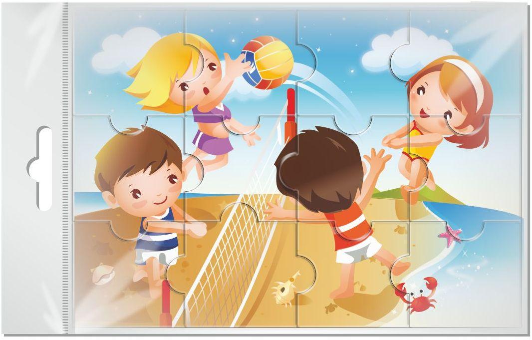 Издательская группа Квадра Пазл для малышей магнитный Волейбол02056Магнитные пазлы, из которых ребенок может самостоятельно собрать картинку. Детали пазла объемные и крупные - маленьким детям удобно с ними играть. Складывая пазл, ребенок развивает мелкую моторику и мышление, учится различать понятия части и целого.Благодаря магнитной основе пазл хорошо держится на металлической поверхности.Пока мамочка готовит кушать,малыш может собрать даже на холодильнике!