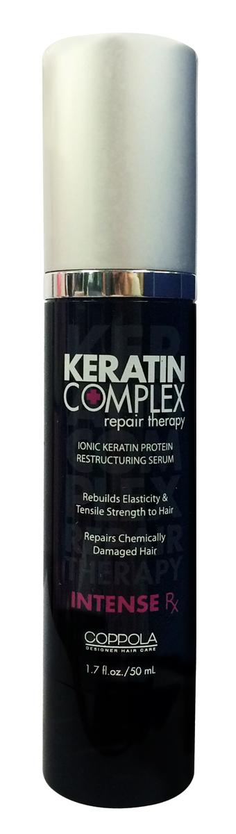 Keratin Complex Шампунь Разглаживание волос, восстановление-экспресс (Intense Rx), 50 мл48912KCПроцедура интенсивного ухода для продления действия процедуры кератинового разглаживания волос. Intense Rx реконструирует, восстанавливает прочность, уменьшает ломкость волос. Процедура насыщает волосы 25% натурального кератина, делая волосы эластичными, гладкими,блестящими, уже после первого применения.Результат сохраняется 5-6 процедур мытья, и имеет накопительное действие.