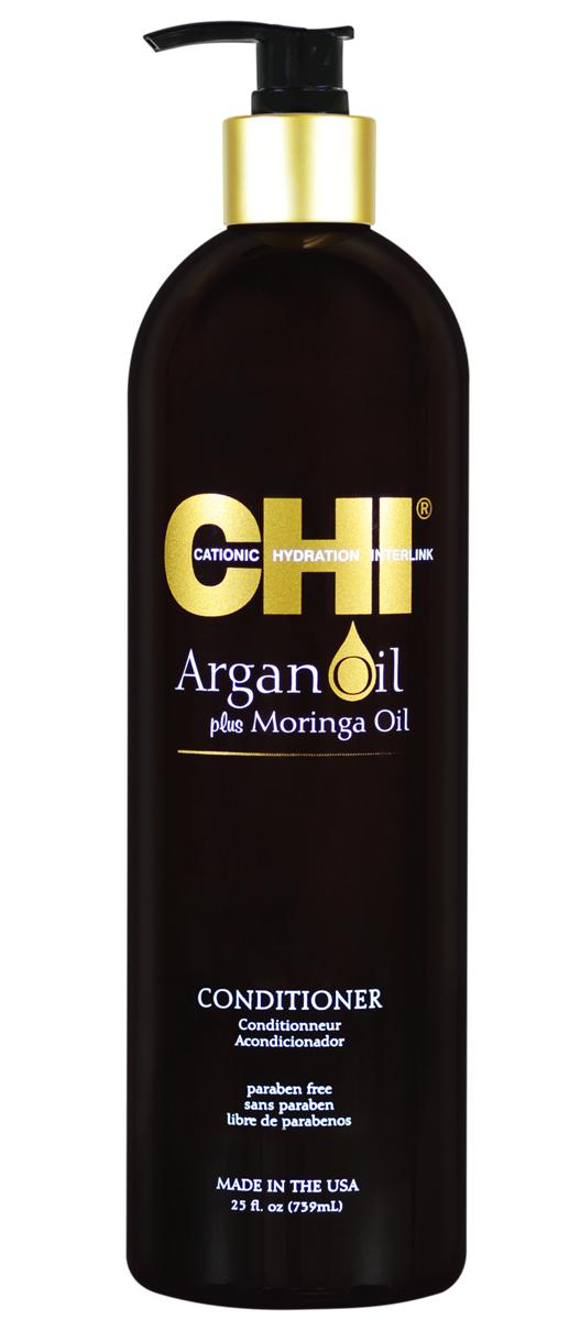 Chi Кондиционер Argan Oil, 355млCHIAC12Кондиционер CHI Argan Oil омолаживает сухие и поврежденные волосы, насыщая их влагой, витаминами и питательными маслами, предотвращая их спутывание и восстанавливая блеск. Волосы становятся гладкими и мягкими. Кондиционер CHI Argan Oil повышает прочность и эластичность волос, помогая защитить от повреждения и от негативного воздействия УФ-лучей.