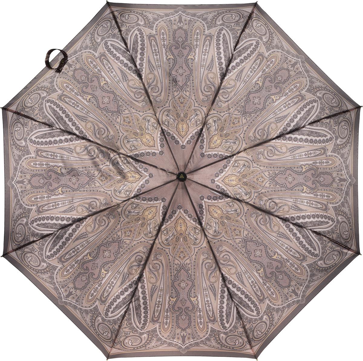Зонт женский Fabretti, полный автомат, 3 сложения. S-16102-4S-16102-4Зонт женский Fabretti, суперавтомат, 3 сложения, сатин