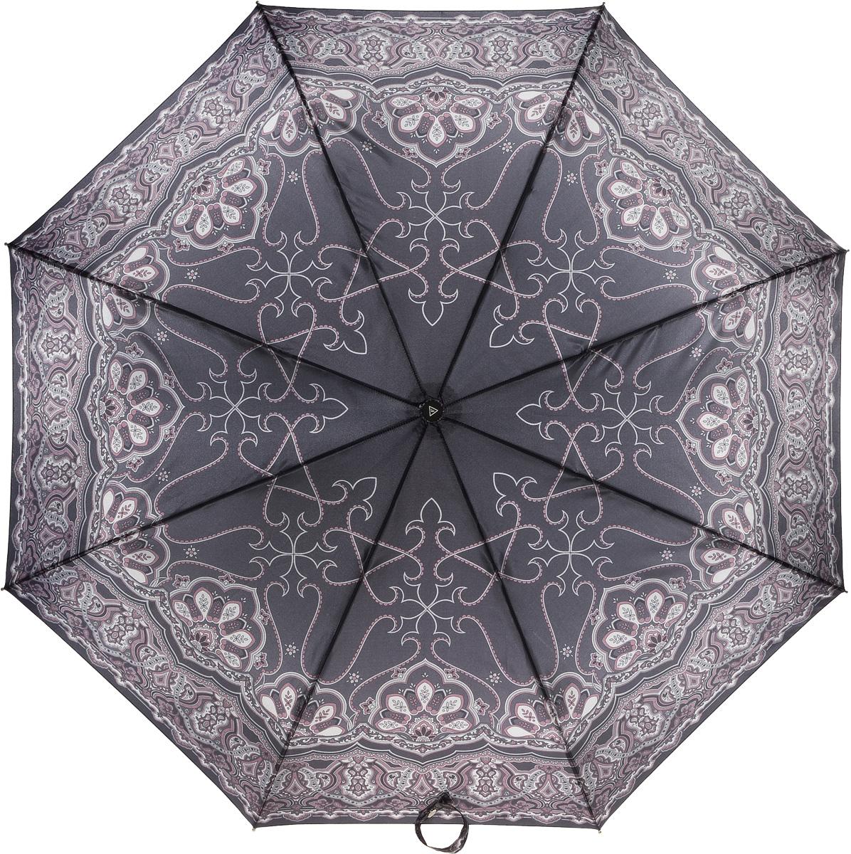Зонт женский Fabretti, автомат, 3 сложения. L-16104-6L-16104-6Зонт женский Fabretti, облегченный суперавтомат, 3 сложения