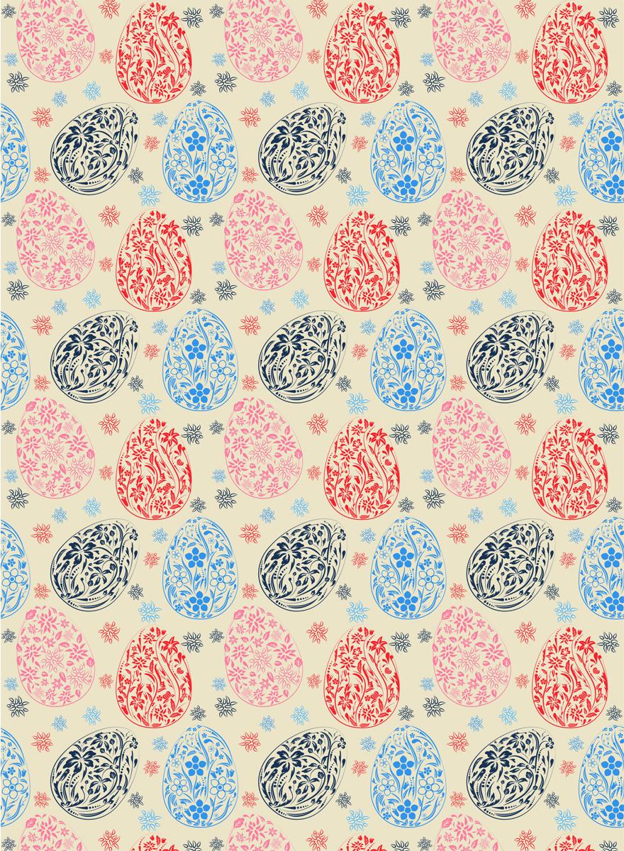 Рисовая бумага для декупажа Craft Premier Пасхальный орнамент, А3CPD0591Плотность бумаги 25 г/м