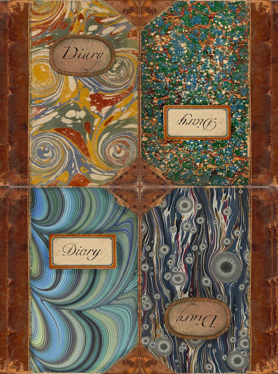 Рисовая бумага для декупажа Craft Premier Дневники, А3CPD0621Плотность бумаги 25 г/м