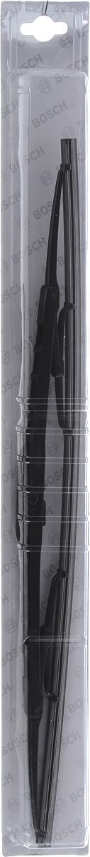 Щетка стеклоочистителя Bosch 48C, каркасная, длина 48 см, 1 шт3397004669Универсальная щетка Bosch 48C - функциональный стеклоочиститель с металлическими скобами, который характеризуется хорошей эффективностью очистки и качеством. Каркас щетки выполнен из металла с антикоррозийным покрытием и имеет форму, способствующую уменьшению подъемной силы на высоких скоростях. Натуральная резина щетки с графитовым напылением обеспечивает тщательность очистки. Щетка имеет крепление крючок. Быстрый монтаж, благодаря предварительно установленному универсальному адаптеру Quick Clip.