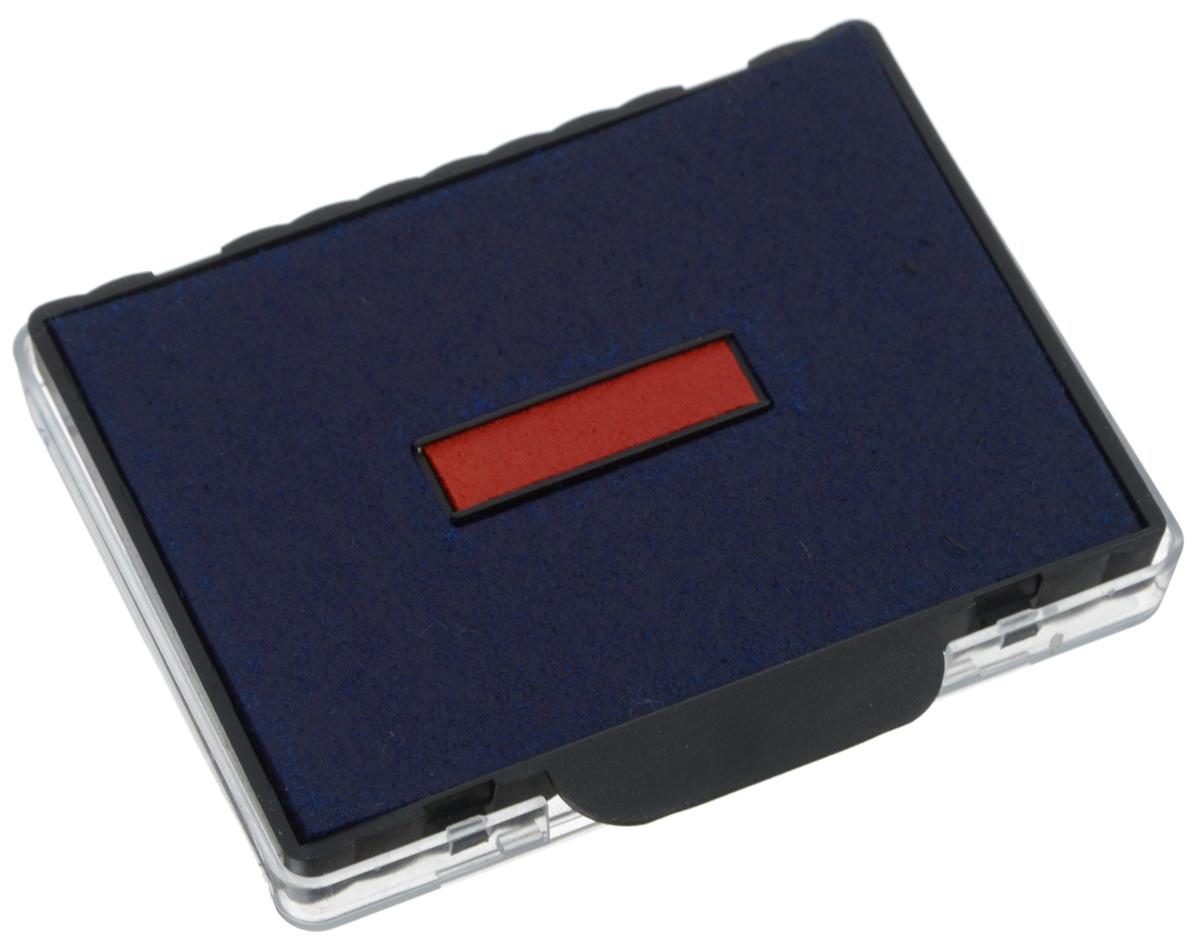 Trodat Сменная штемпельная подушка цвет синий красный 6/58/26/58/2Оригинальная сменная штемпельная подушка Trodat гарантирует высокое качество от первого до последнего оттиска. Четкие оттиски. Ресурс подушки - 10000 оттисков. Рекомендована замена подушки, а не дозаправка краской. Цвет - синий, красный. Подходит к артикулам 5208, 5480, 5485.