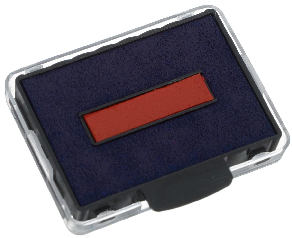 Trodat Сменная штемпельная подушка цвет синий красный 6/50/26/50/2Оригинальная сменная штемпельная подушка Trodat гарантирует высокое качество от первого до последнего оттиска. Четкие оттиски. Ресурс подушки - 10000 оттисков. Рекомендована замена подушки, а не дозаправка краской. Цвет - синий, красный. Подходит к артикулам 5430, 5435.