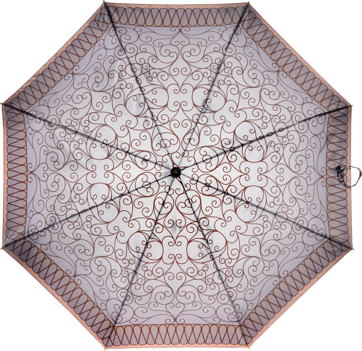 Зонт женский Fabretti, полный автомат, 3 сложения. S-16102-3S-16102-3Зонт женский Fabretti, суперавтомат, 3 сложения, сатин