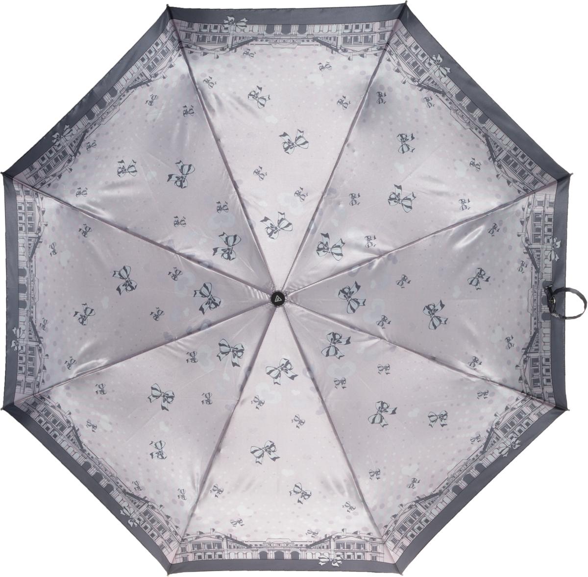 Зонт женский Fabretti, автомат, 3 сложения. L-16104-15L-16104-15Зонт женский Fabretti, облегченный суперавтомат, 3 сложения