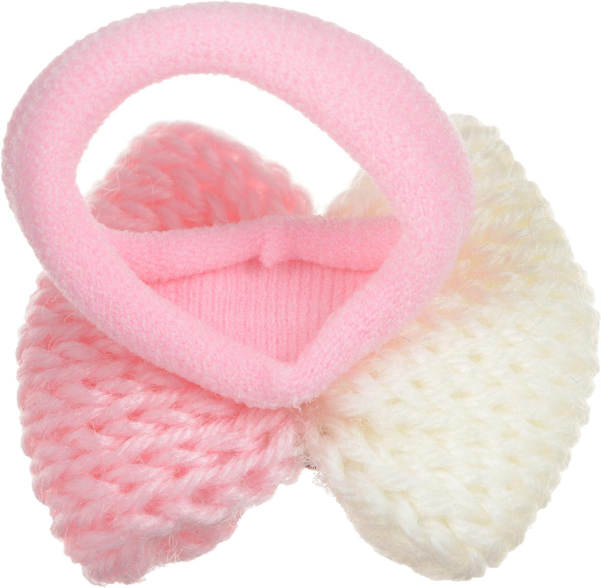 Baby's Joy Резинка для волос Бантик цвет розовый белый 2 шт AL 972