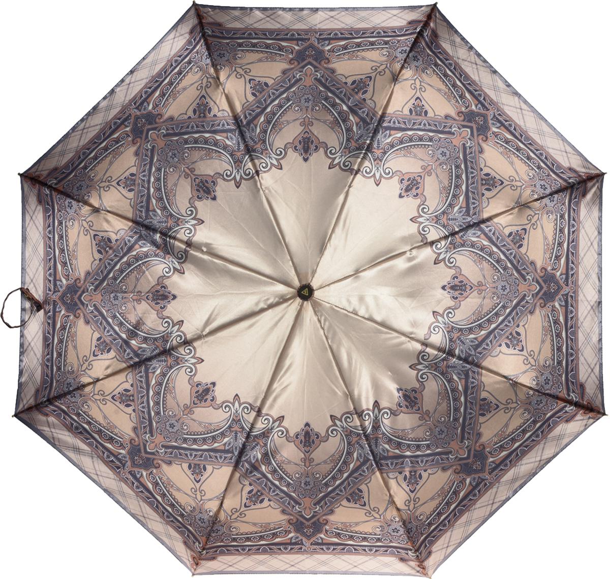 Зонт женский Fabretti, полный автомат, 3 сложения. S-16102-2S-16102-2Зонт женский Fabretti, суперавтомат, 3 сложения, сатин