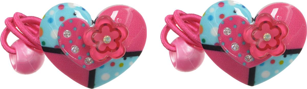 Babys Joy Резинка для волос Сердечко 2 штAL 970_СердечкоРезинка для волос Babys Joy Сердечко - отличное дополнение к прическе вашей юной модницы. В набор входят две резинки, дополненные декоративными элементами в виде пластиковых сердечек, украшенных стразами, и пластиковых бусин в цвет резинки. Резинки хорошо тянутся и прекрасно держат волосы.