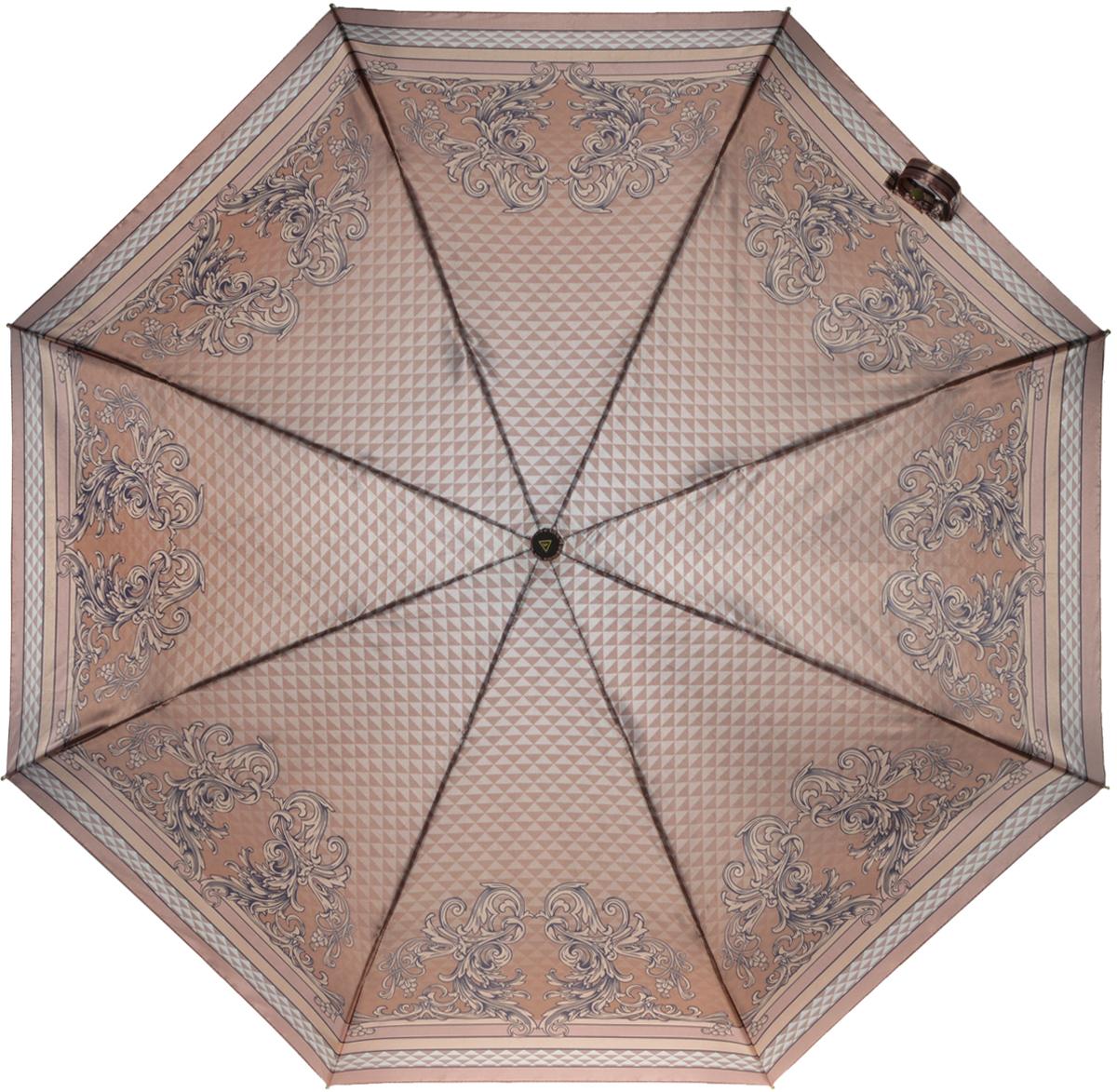 Зонт женский Fabretti, автомат, 3 сложения. L-16107-5L-16107-5Зонт женский Fabretti, облегченный суперавтомат, 3 сложения