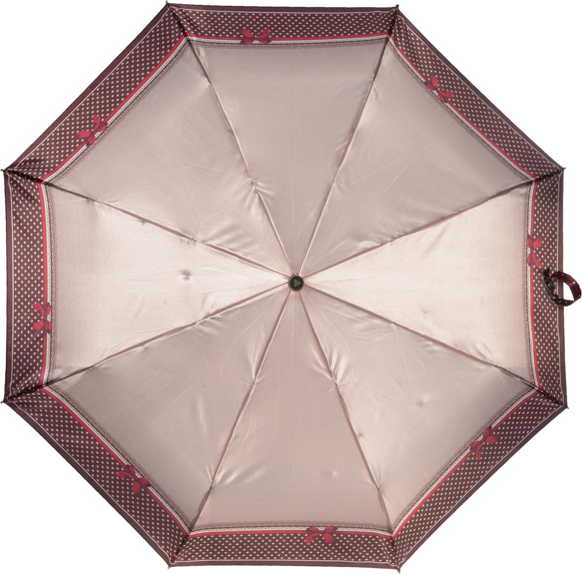 Зонт женский Fabretti, полный автомат, 3 сложения. S-16102-9S-16102-9Зонт женский Fabretti, суперавтомат, 3 сложения, сатин