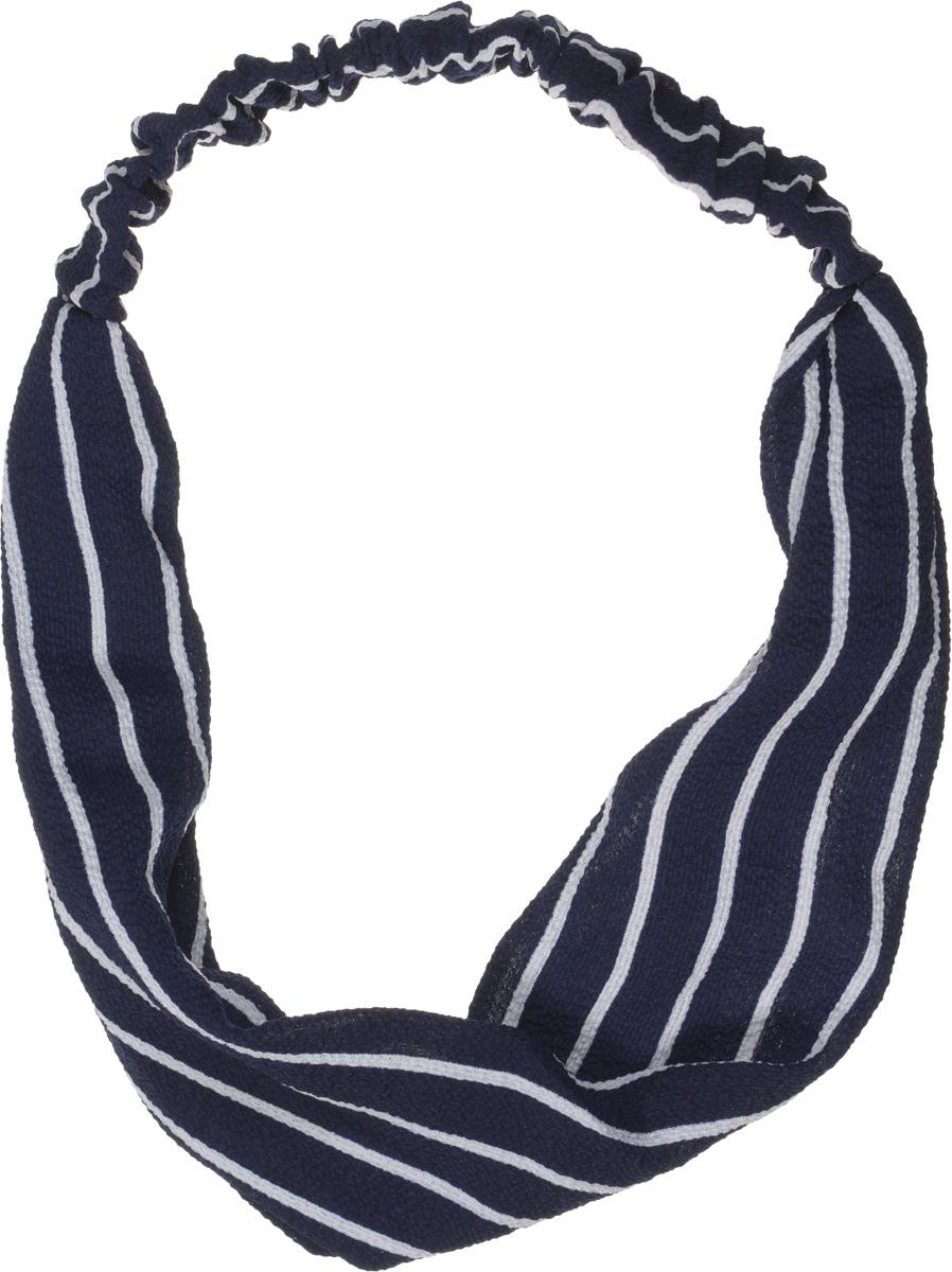Baby's Joy Повязка для волос Полоски цвет темно-синий белый